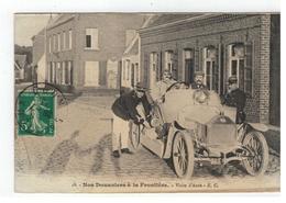 18 - Nos Douaniers à La Frontière - Visite D'Auto - E.C. 1919 - Douane
