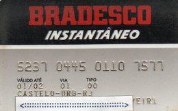 MEC.62 / BRASIL -  CREDIT CARD / BANK BRADESCO  / MULTEBANCO - Cartes De Crédit (expiration Min. 10 Ans)