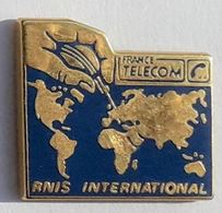 GP288 Pin's FRANCE TELECOM Signé Tosca RNIS INTERNATIONAL  Achat Immediat - France Telecom