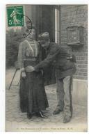 17 - Nos Douaniers à La Frontière - Visite Au Poste - E.C. 1919 - Douane