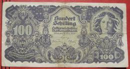 100 Schilling 29.5.1945 (WPM 118) - Austria
