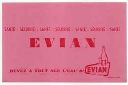 - BUVARD EVIAN - - Buvards, Protège-cahiers Illustrés