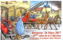 VEYRI  -  BERGERAC  -  29éme SALON DE LA COLLECTION   2015  LES POMPIERS DANS L HISTOIRE - Veyri, Bernard