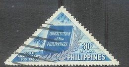 1960 Constitution, 30 Cents, Used - Philippines