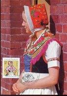 45797 Germany Ddr,  Maximum 1962 , Tracht, Folk Costume, Mi-1723 - DDR