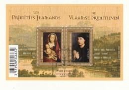 FRANCE 2010 BLOC OBLITERE 1ER JOUR LES PRIMITIFS FLAMANDS SUR FRAGMENT - F4525 - F 4525 - - Oblitérés
