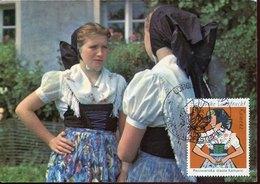 45804 Germany Ddr,  Maximum 1978, Tracht, Folk Costume, Mi-1671 - [6] République Démocratique