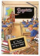 VEYRI  -  BERGERAC  -  16éme JOURNEE DES COLLECTIONNEUR   2004  L ECOLE - Veyri, Bernard