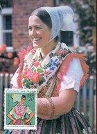 45802 Germany Ddr,  Maximum 1978, Tracht, Folk Costume, Mi-1669 - DDR