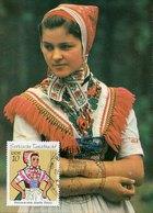 45803 Germany Ddr,  Maximum 1972, Tracht, Folk Costume, Mi-1668 - DDR