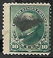 US   1890   Sc#226  10c  Used     2016 Scott Value $5 - Used Stamps