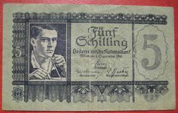 5 Schilling 4.9.1945 (WPM 121) - Austria
