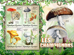 Togo.  2019 Mushrooms. (0201a)  OFFICIAL ISSUE - Funghi