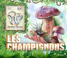 Togo.  2019 Mushrooms. (0201b)  OFFICIAL ISSUE - Funghi