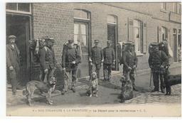 4- NOS DOUANIERS A LA FRONTIERE Le Départ Pour Le Rendez-vous - E.C.1919 - Douane