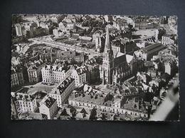 Nantes(L.-Inf.) Vue Aerienne Au Centre La Basilique Saint-Nicolas 1952 - Nantes