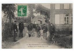 4-Nos Douaniers à La Frontière. Le Départ Pour Le Rendez-vous - E.C.1919 - Douane
