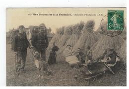 11-Nos Douaniers à La Frontière. Le Départ Pour Le Rendez-vous Rencontre D'Embuscade- E.C.1919 - Douane