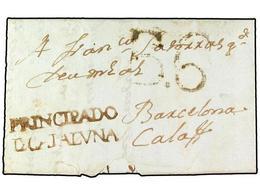 SPAIN: PREPHILATELIC MARKS  DP05 CATALUÑA - ...-1850 Prephilately