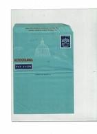 "FAL10- CITE DU VATICAN - AEROGRAMME 55L ""1/2/3 LEMBO DA PIEGARE"" - Postal Stationeries"