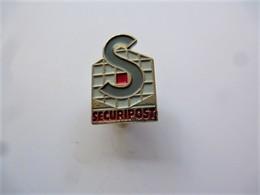 PINS SECURIPOST  TRANSPORT DE FONDS / 33NAT - Mail Services