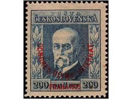 CZECHOSLOVAKIA - Checoslovaquia