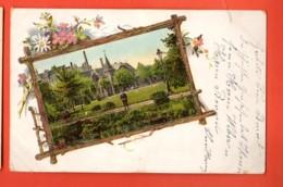 TSM-11 Crefeld Krefeld Litho, Stadtgarten. Gepràgt. Pionier. Gelaufen 1901 Briefmarke Fehlt.Marques D'album - Krefeld