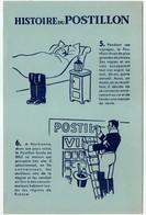 - BUVARD HISTOIRE DU POSTILLON - - Papel Secante