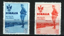 Somalia 1935 Sass.207/08 */MH VF/F - Somalia