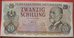 20 Schilling 2.7.1956 (WPM 136) / Auer Von Welsbach - Maria Rain - Austria