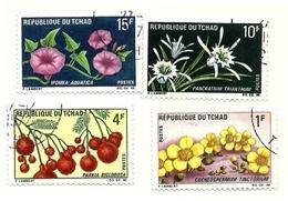 1969 - Ciad 179/82 Frutta E Fiori - Frutta