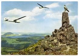 GLIDING : ALLEMAGNE : SEGELFLUG AUF DER WASSERKUPPE / RHON FLIEGERDENKMAL (10 X 15cms Approx.) - Aviation