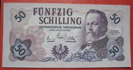 50 Schilling 2.7.1962 (WPM 137) / Richard Wettstein - Schloss Mauterndorf - Austria
