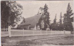 Church Of  England, Springwood, Blue Mountains, NSW - Vintage PC Posted 1910 With Stamp - Australia