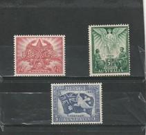 Australie * 1946 N° 149/151   Anniversaire De La Victoire - Ongebruikt