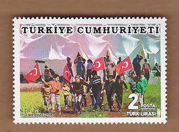 AC - TURKEY STAMP - APRIL 23th NATIONAL SOVEREIGNTY AND CHILDREN'S DAY MNH 23APRIL 2018 - 1921-... République