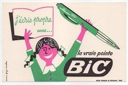 - BUVARD STYLOS BIC - La Vraie Pointe - - Stationeries (flat Articles)