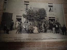 SCEY SUR SAONE CAFE RESTAURANT RENAUD - Autres Communes