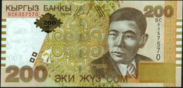 KYRGYZSTAN - 200 Som 2004 {Kyrgyz Banky} UNC P.22 - Kyrgyzstan