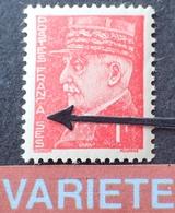 "R1591/7 - 1941 - TYPE PETAIN - N°514 NEUF** - VARIETE ➤➤➤ "" FRANCA SES "" - Variétés Et Curiosités"