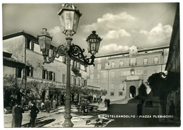 ITALIA : CASTELGANDOLFO - PIAZZA PLEBISCITO (10 X 15cms Approx.) - Italië