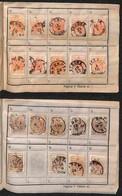 Antichi Stati Italiani - Lombardo Veneto - 1850/1863 - Libretto A Scelta Con 32 Pezzi Del 15 Cent (3/20) + 37  Pezzi Del - Stamps