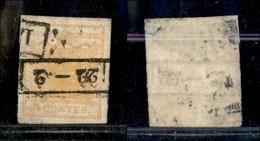 Antichi Stati Italiani - Lombardo Veneto - 1850 - 5 Cent (1) Usato A Lodi (250) - Stamps