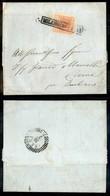 Antichi Stati Italiani - Lombardo Veneto - 15  Cent (5) - Lettera Da Milano A Crema Del 29.7.52 (160) - Stamps