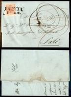 Antichi Stati Italiani - Lombardo Veneto - 15 Cent (5c - Primo Sottotipo - Carta Sottile) Su Lettera Da Brescia A Salò D - Stamps
