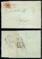 Antichi Stati Italiani - Lombardo Veneto - Recoaro (P.ti 4) - 30 Cent (21) Su Lettera Per Venezia Del 22.7.58 (240) - Stamps