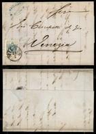 Antichi Stati Italiani - Lombardo Veneto - 45 Cent (22) Su Lettera Da Milano A Venezia Del 23 Luglio 1858 (400) - Stamps