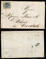 Antichi Stati Italiani - Lombardo Veneto - 45 Cent (22) Su Lettera Da Milano A Cividale Del 31.5.58 (400) - Stamps