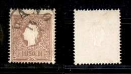 Antichi Stati Italiani - Lombardo Veneto - Governo Provvisorio - 10 Soldi (B3) Usato A Milano 14/6 (325) - Unclassified