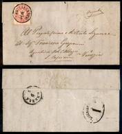 Antichi Stati Italiani - Lombardo Veneto - 5 Soldi (38) Su Lettera Da Castelfranco A Venezia Del 8.4.64 - Stamps